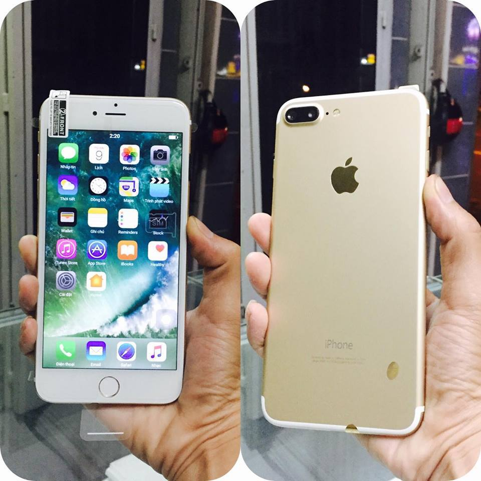 iPhone 7s plus 2sim Android OS10 màn 5.5' camera kép wifi