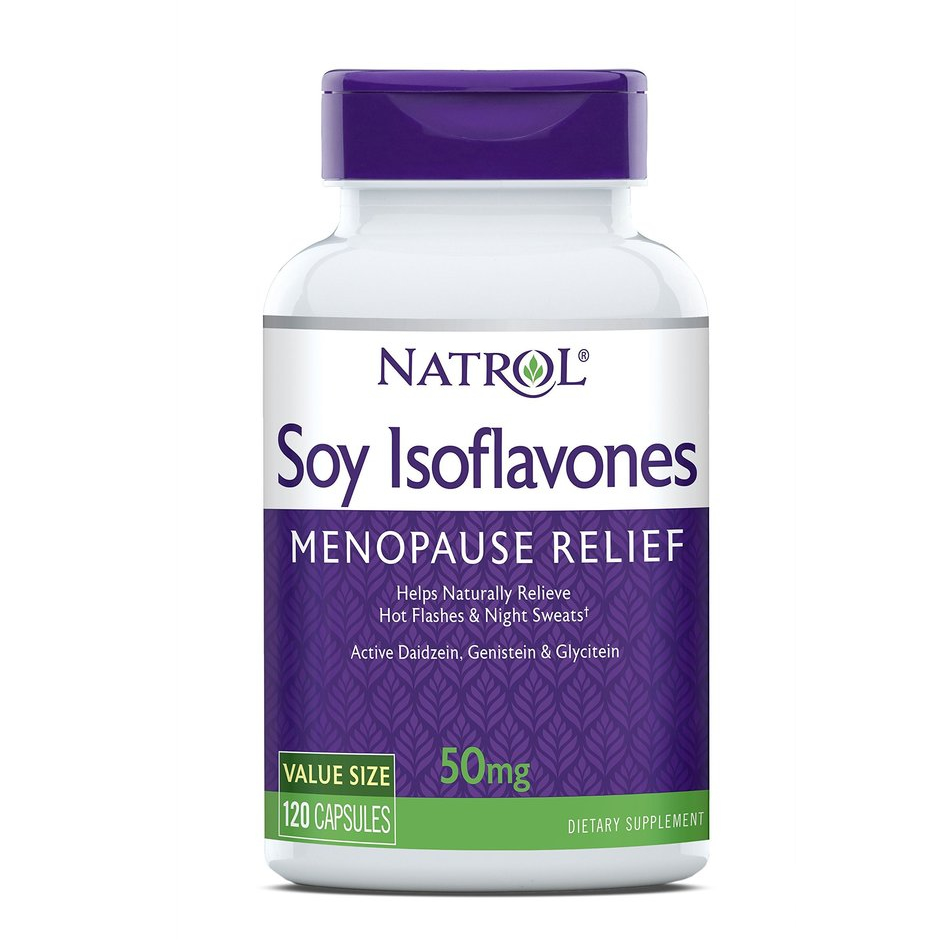 Soy Isoflavones cao cấp của Natrol