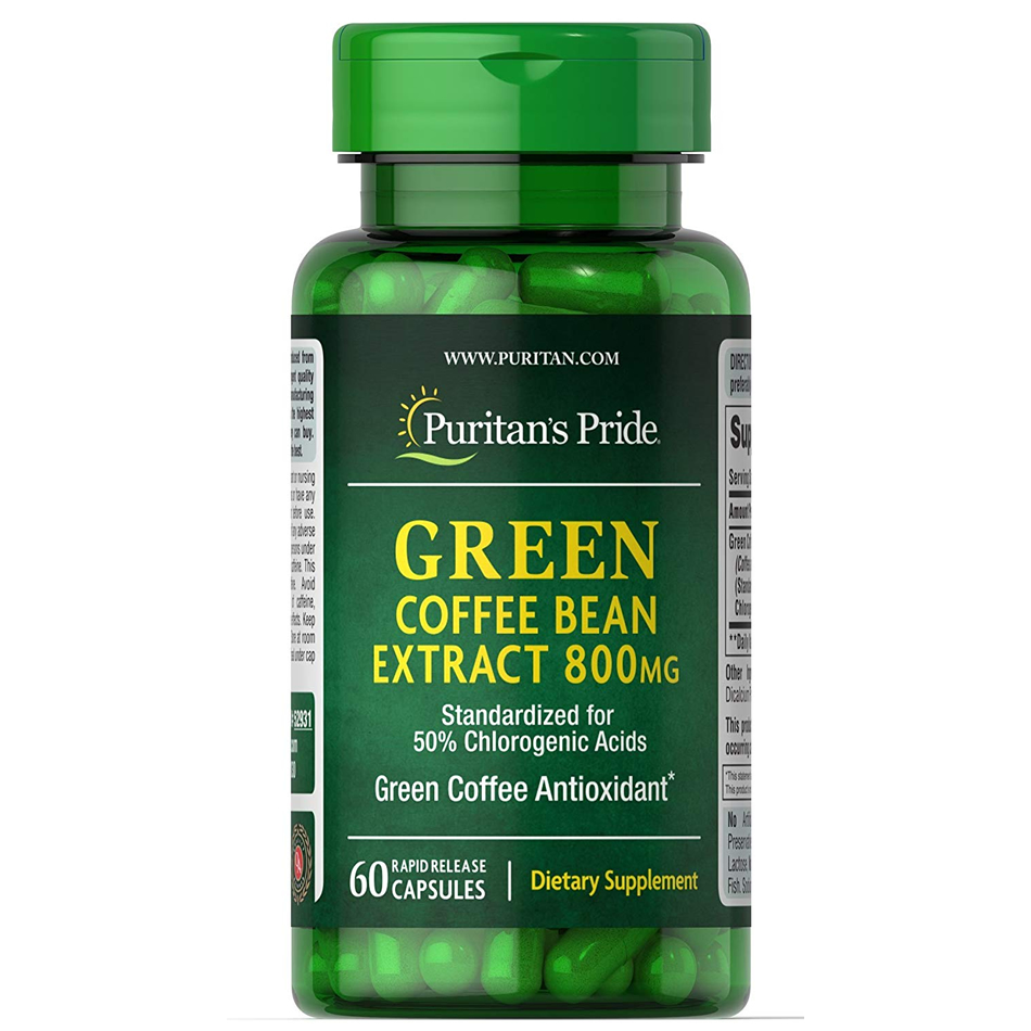 Giảm cân Green Coffee Bean Extract 800mg