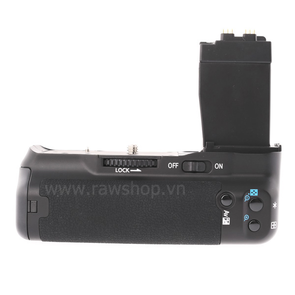 Meike battery grip DR550 for Canon 550D 600D 650D 700D - 2.4Ghz LCD timer remote