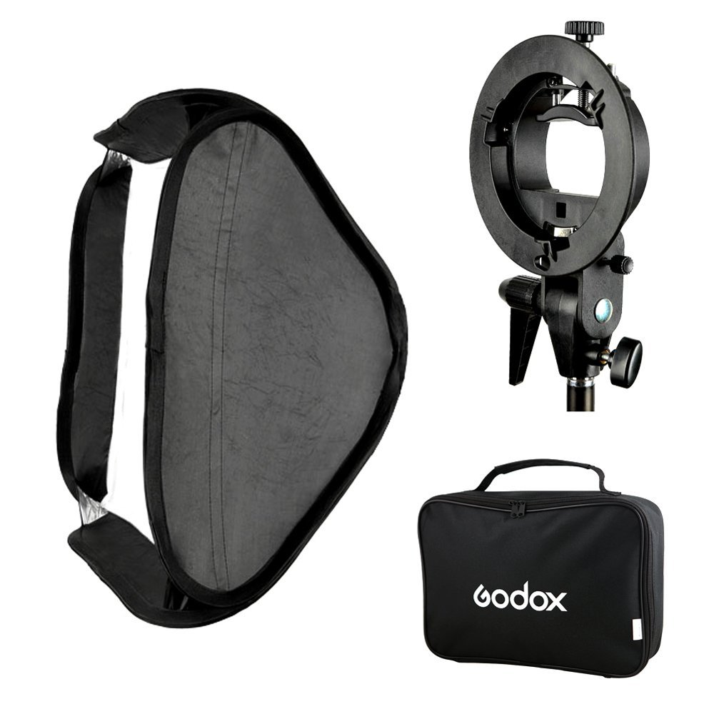 Godox smart softbox 60x60cm with Godox S shape adapter