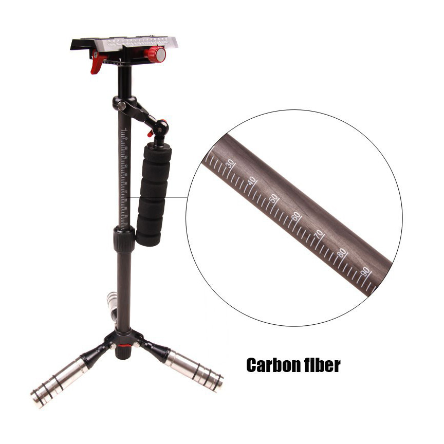 Tri-foot S40 steadicam - Carbon Fibre
