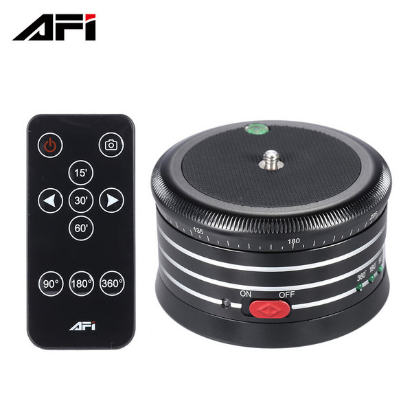AFI MRP01 - Panoramic 360 Timelapse head with remote Coltrol for DSLR, Mirrorless, DV