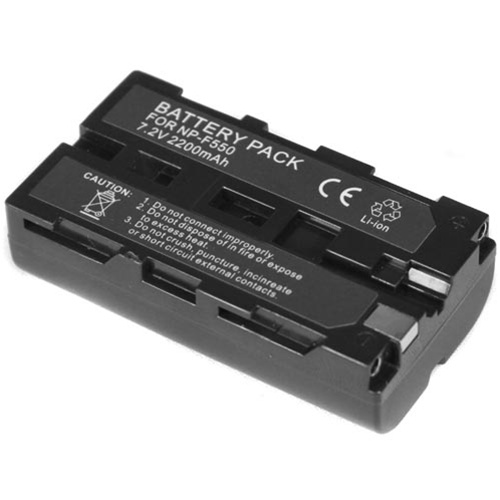 Pin F550/F570 Mcoplus 2200maH 7.4V for LED light