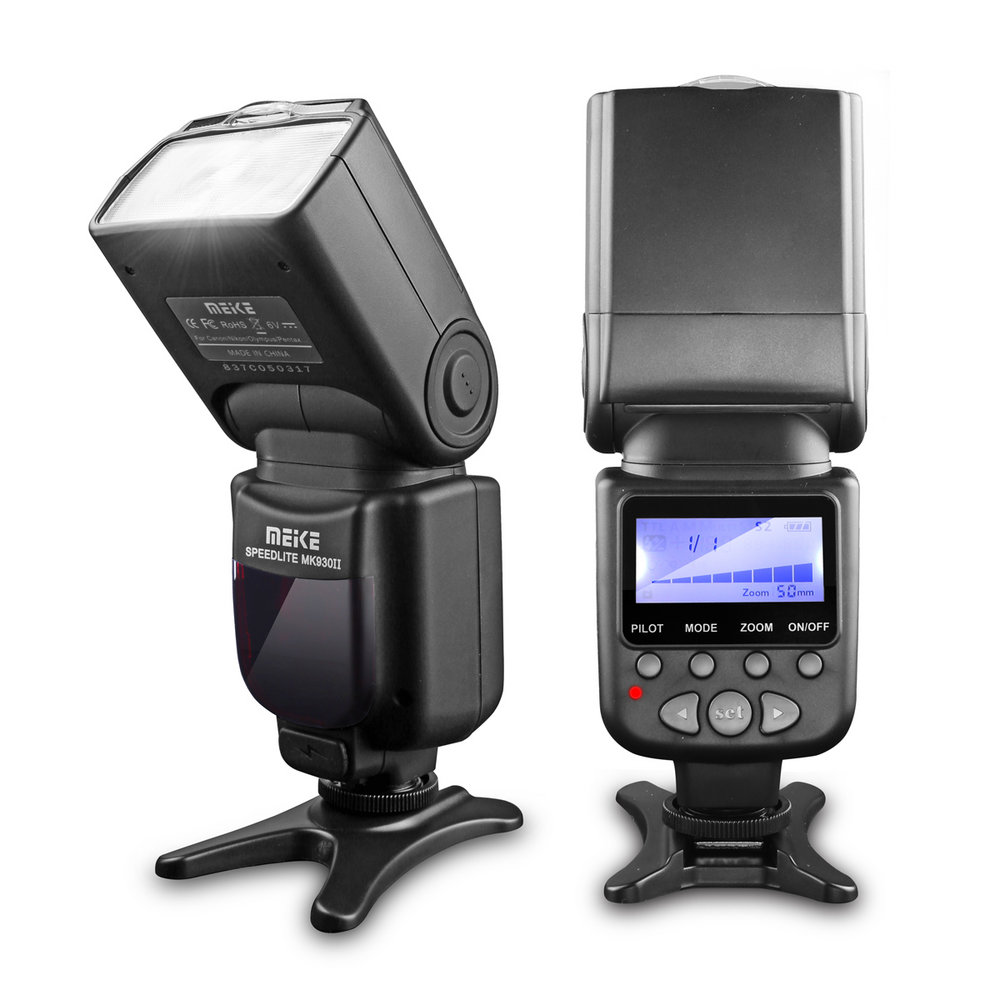 Flash Meike MK930II - Standard for Canon/Nikon/Sony/Pentax ...
