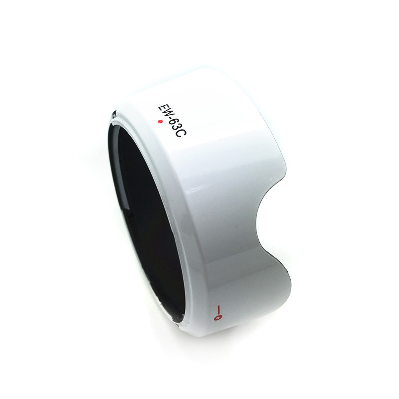 Hood EW-63C - WHITE for Canon 18-55 STM