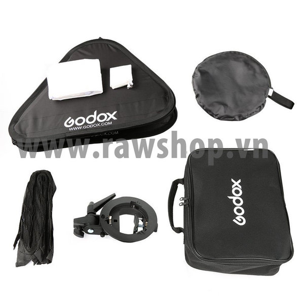 Godox Smart softbox 80x80 with HONEY COMB GRID