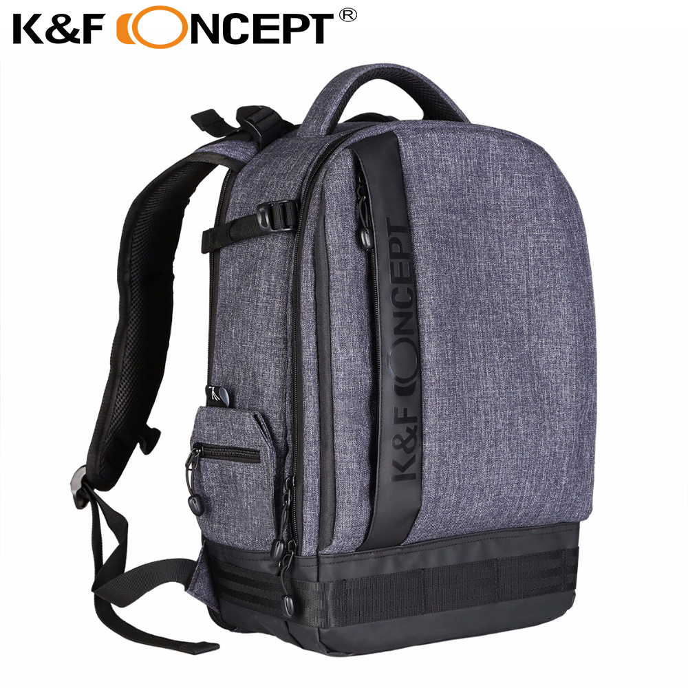 Balo K&F Concept Pro Full foto Canvas Grey