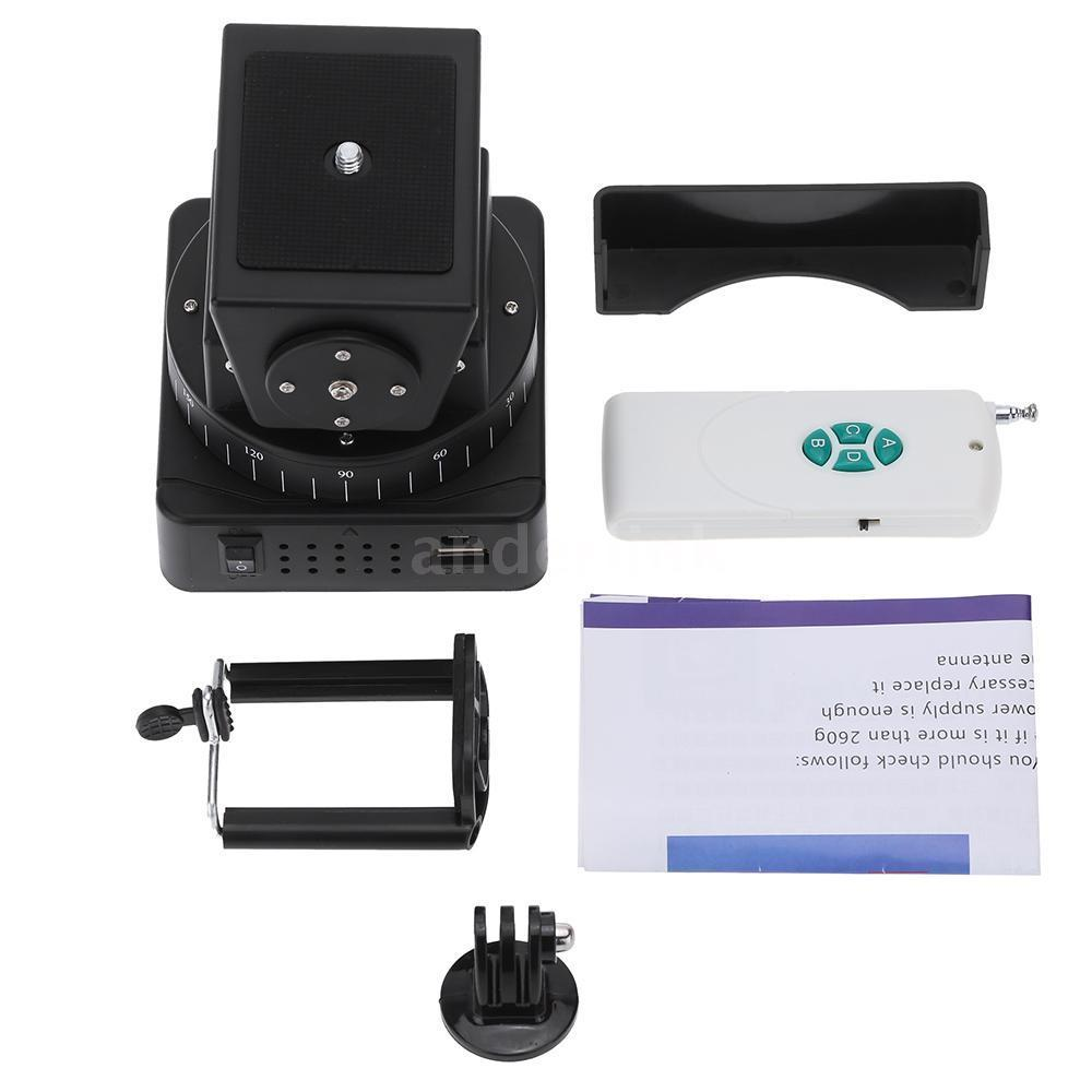 360 Pan tift head - remote control - for Smart phone, gopro