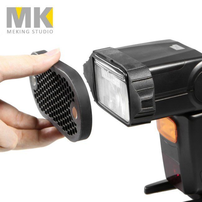 Selens Magnetic Flash Modifier Kit with Honeycomb