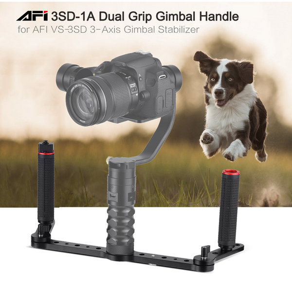 Dual Grip Handle gimble Joystick control for AFI VS3D
