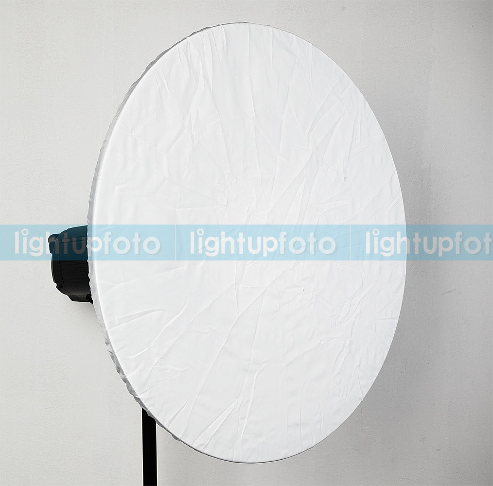 42cm Selens Beauty Dish White - Honeycomb - Soft cloth - Bowens mount
