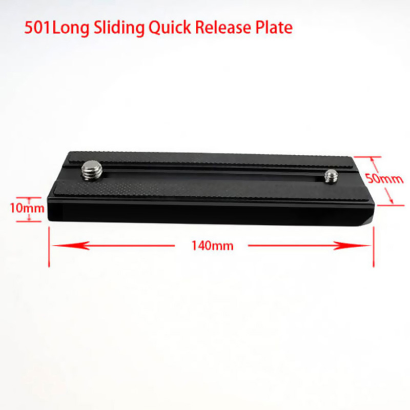 Bexin Long Plate 501 for Benro KH25 RM KH26, Manfrotto