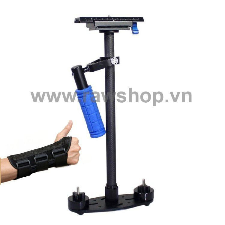 Steadicam S60T DEBO - Sợi Carbon cao cấp - Tặng trợ lực cổ tay