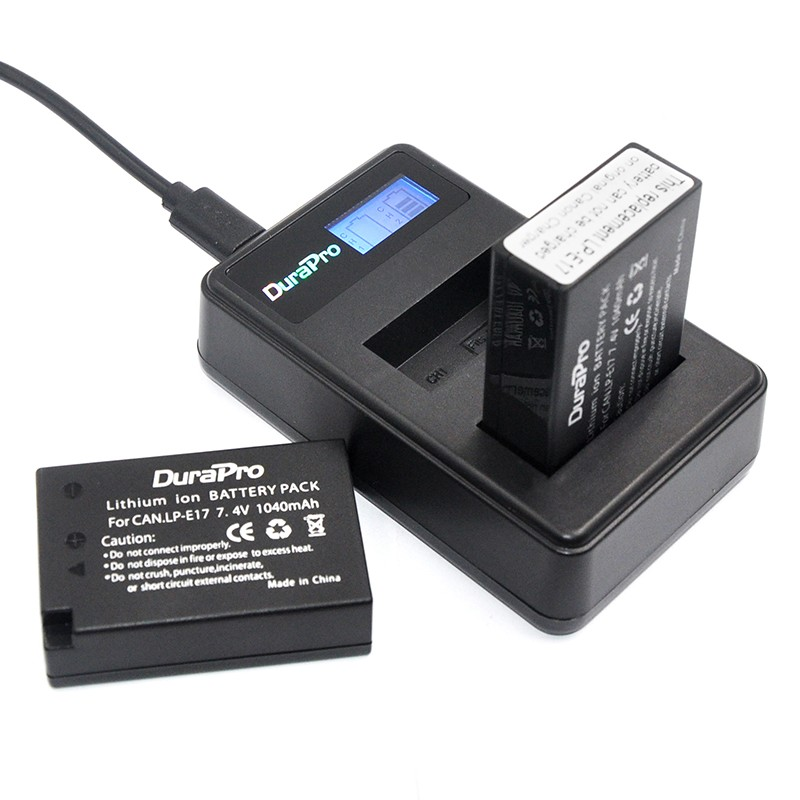 Sạc Pin Durapro USB Dual charger for LP-E17