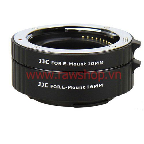 JJC Auto Focus Macro Extension Tube Set for Sony E mount