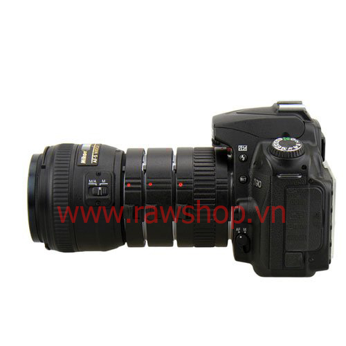 JJC Auto Focus Macro Extension Tube Set for Nikon
