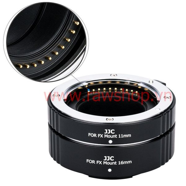 JJC Auto Focus Macro Extension Tube Set for Fujifilm