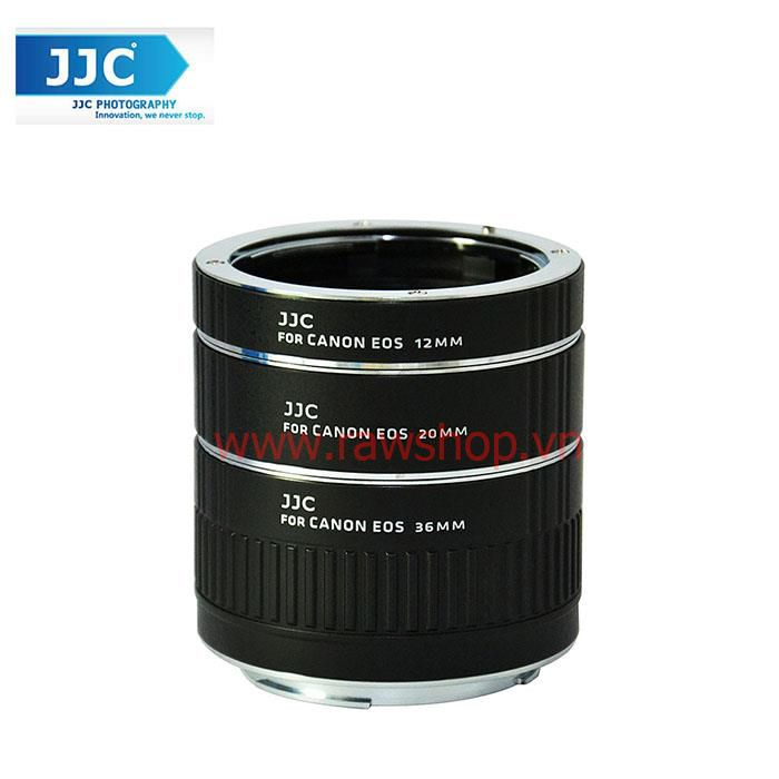 JJC Auto Focus Macro Extension Tube Set for Canon EOS
