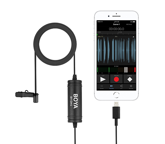 Micro BOYA BY-DM1 - for IPHONE lightning port