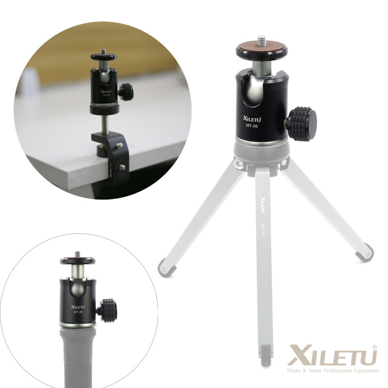 Mini ballhead LETU MT-26