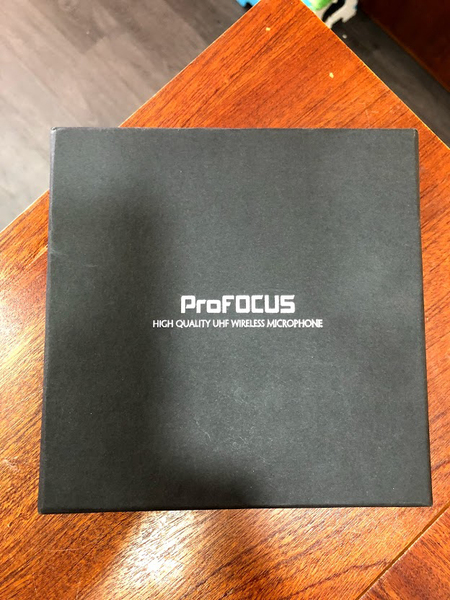 ProFOCUS UHF wireless micro for for Live stream