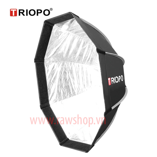 Quick softbox bát giác Triopo KS65 cho đèn flash speedlite