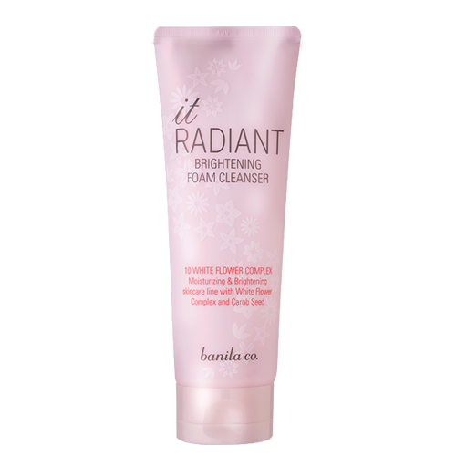 It radiant brightening cleanser