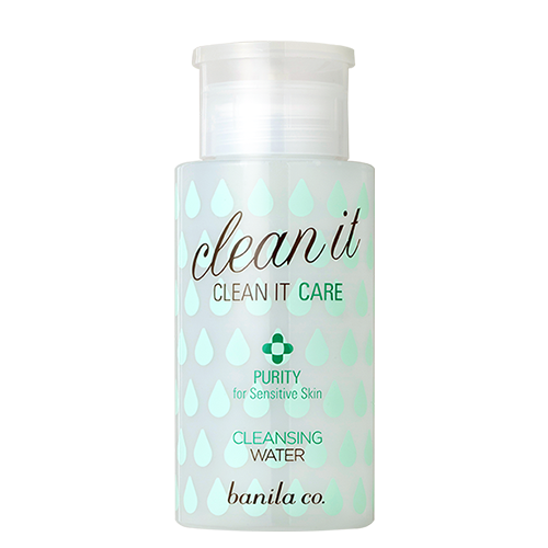 Clean it care purity cleansing water