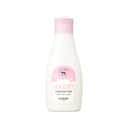 Yogurt cleansing foam