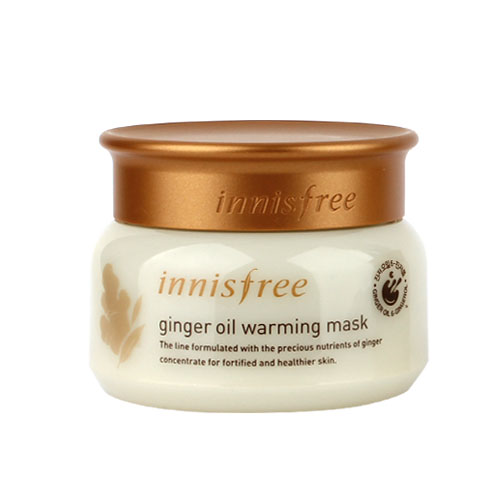 Ginger oil warming mask