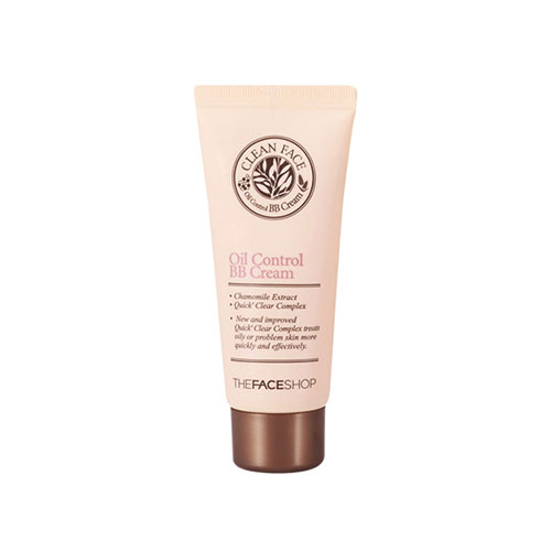 Clean face oil control bbcream