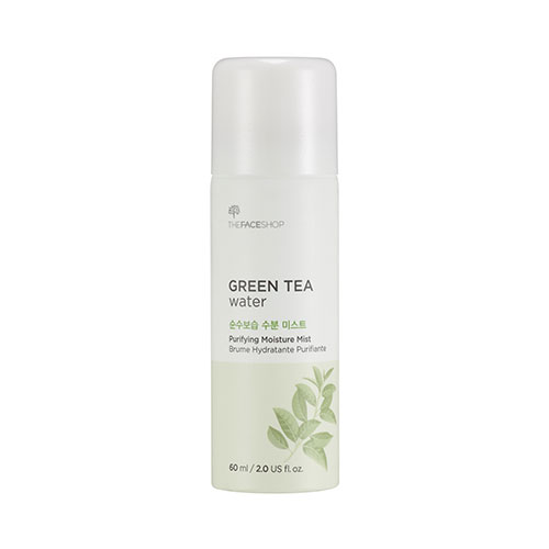 Green tea water purifying moisture mist