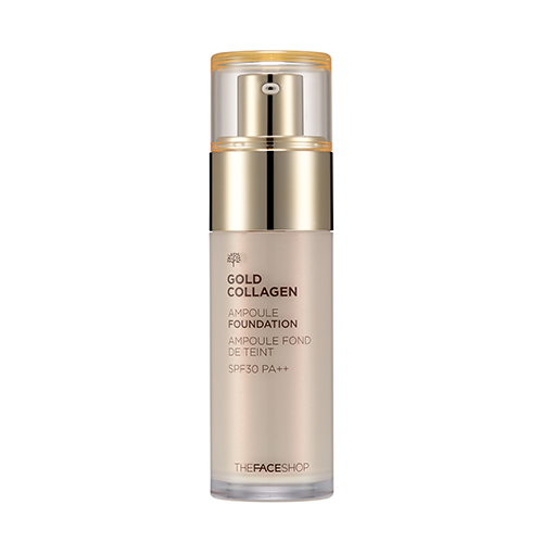 Gold collagen ampoule found
