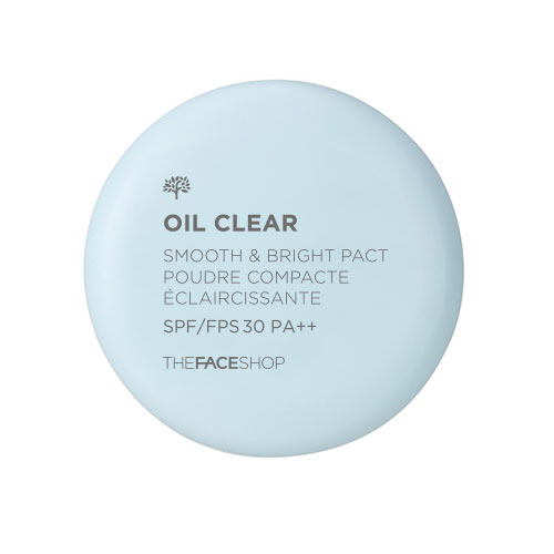 Oil clear smooth&bright pact