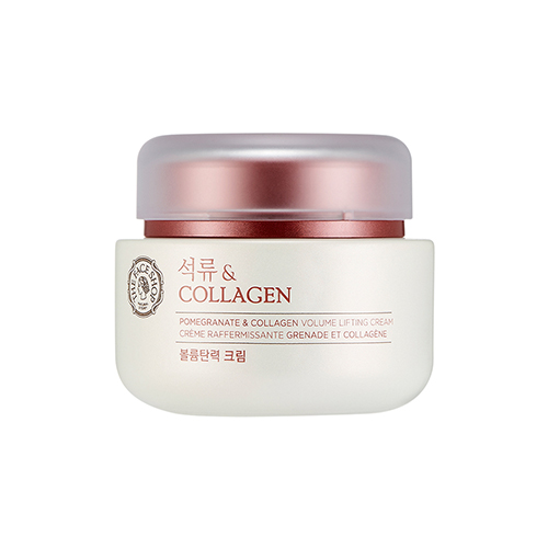 Pomegranate & collagen volume lifting cream