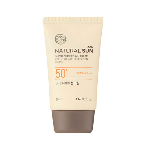 Natural sun super perfect suncream