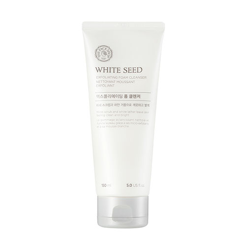 TFS White seed foam cleanser