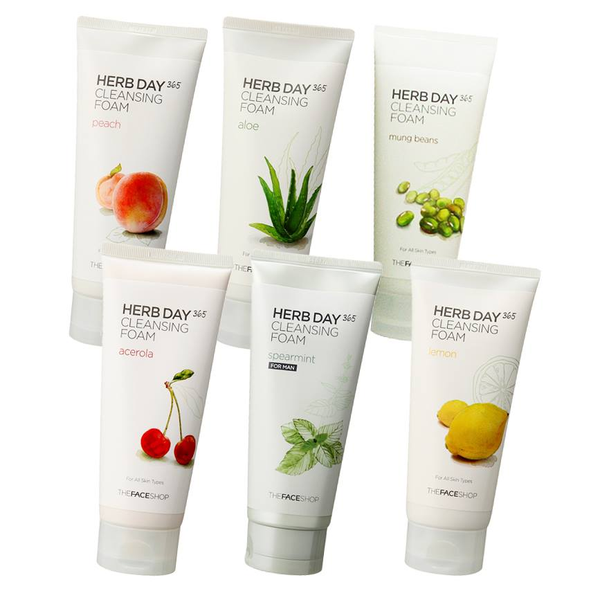 Herbday cleansing foam