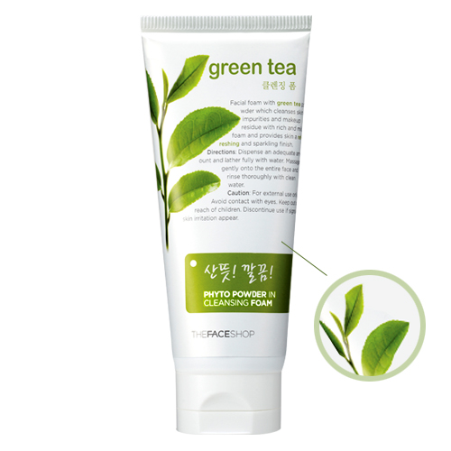 Green tea phyto cleansing foam