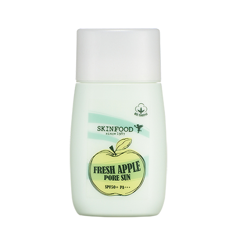 Fresh apple pore sun