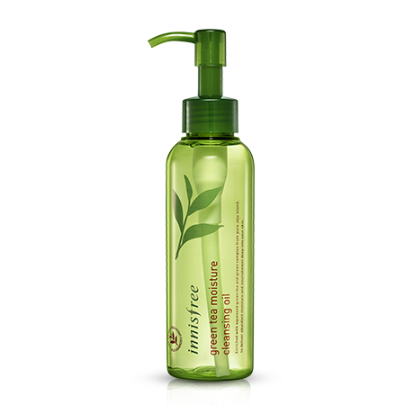Green tea moisture cleansing oil