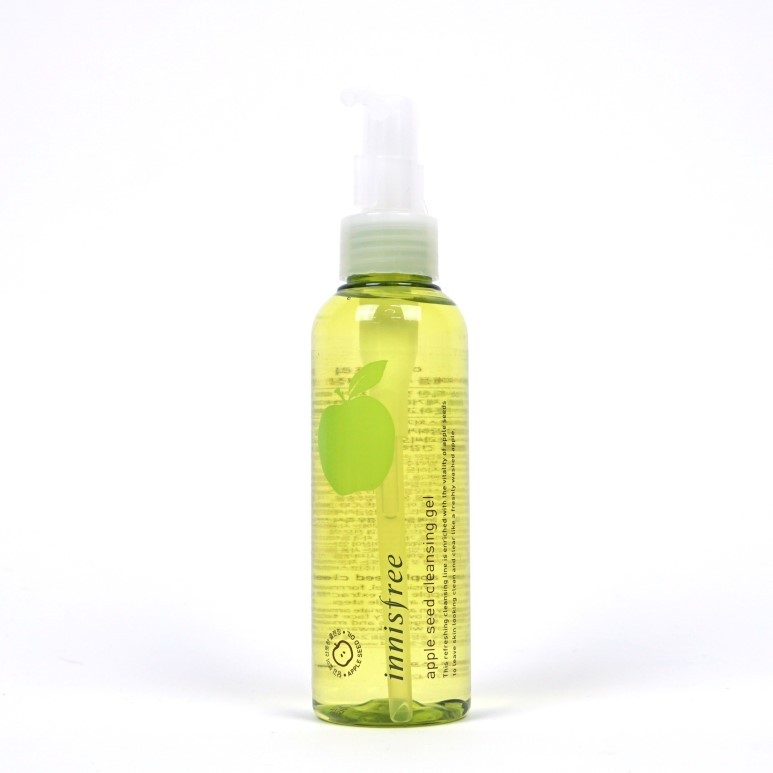 Apple seed cleansing gel