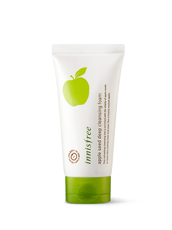 Apple seed deep cleansing foam