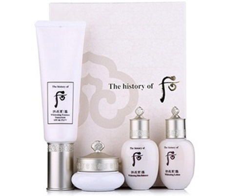 Whitening essence sunscreen set