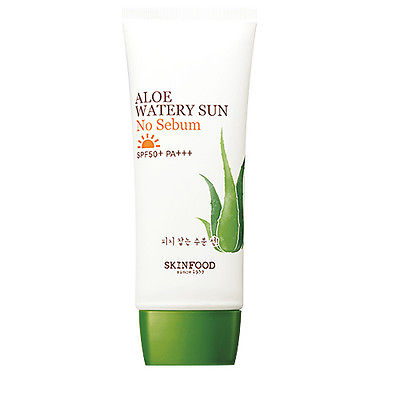 aloe watery sun no sebum