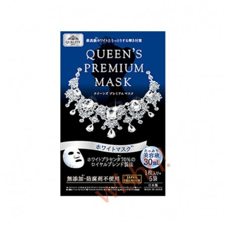 Queen premium mask xanh