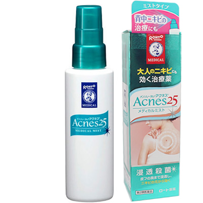 Acnes medical mist