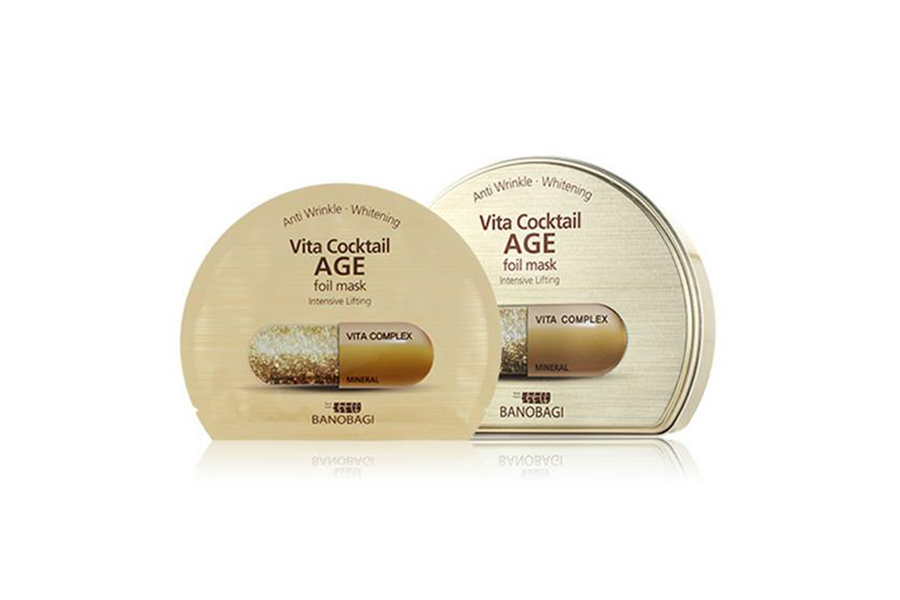 vita cocktail age foil mask