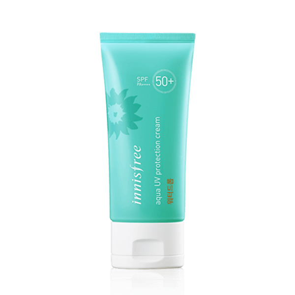 Inisfree aqua uv protection cream water drop